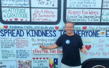 Bob Votruba and The Kindness Bus