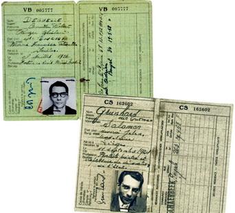 Adolfo Kaminsky's Fake ID's