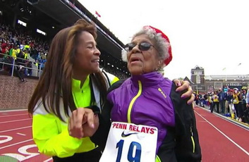 Ida Keeling 100 years old sets new world record in 100 meters dash