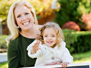 Liz Smith and Gisile