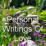 Personal Writings Of Love