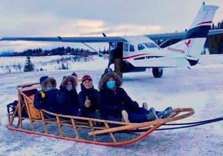 female medical team in the Alaskan Arctic Circle
