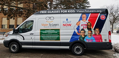 Vision To Learn mobile clinic