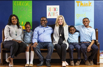 Dr.Sarah Schecter and the Jones family