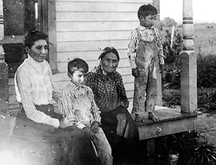 Susan La Flesche Picotte Family