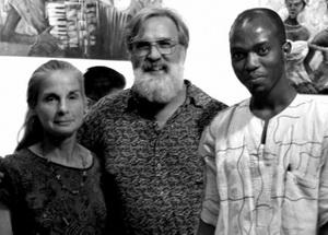 Linda, Jeff And Abu, Founders of The Moringa Community