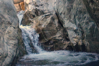 Arroyo Seco Waterfall